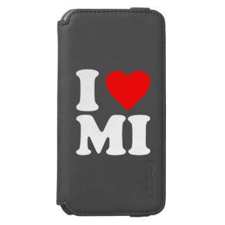I LOVE MI iPhone 6/6S WALLET CASE