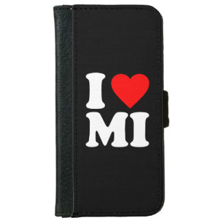 I LOVE MI WALLET PHONE CASE FOR iPhone 6/6S