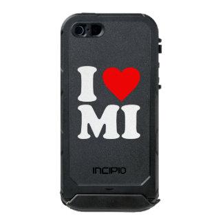 I LOVE MI WATERPROOF iPhone SE/5/5s CASE