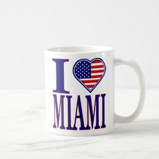 I Love Miami 4th Of July Edition Mug