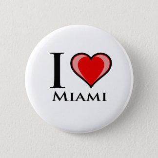 I Love Miami Button