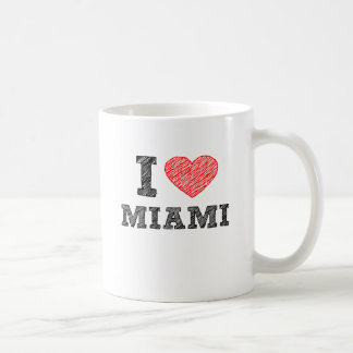 I Love Miami Coffee Mug
