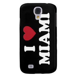 I Love Miami Florida Galaxy S4 Case