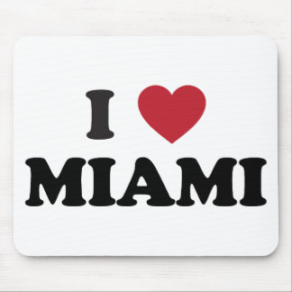 I Love Miami Florida Mouse Pad