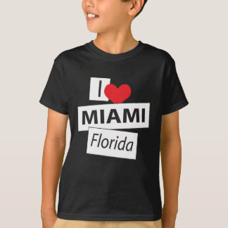 I Love Miami Florida T-Shirt