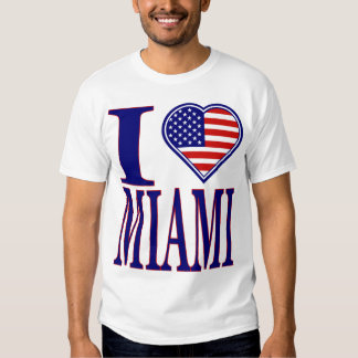 I Love Miami Forth Of July Edition T-Shirt