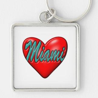 I love Miami Key Chain