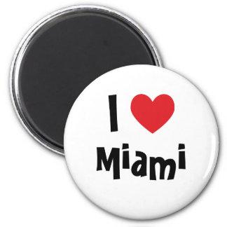 I Love Miami Magnets