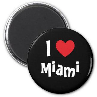 I Love Miami Refrigerator Magnets