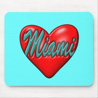 I love Miami Mouse Pad