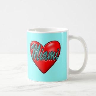 I love Miami Classic White Coffee Mug