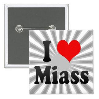 I Love Miass, Russia. Ya Lyublyu Miass, Russia Button