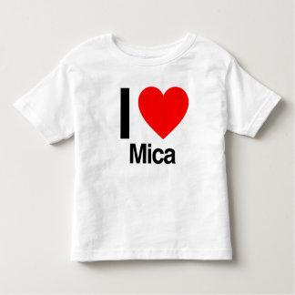 i love mica shirt