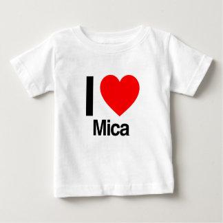 i love mica t-shirt