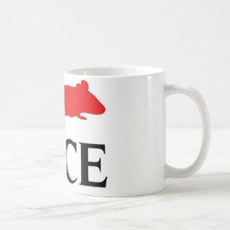 I Love Mice Coffee Mug
