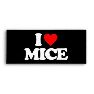 I LOVE MICE ENVELOPE