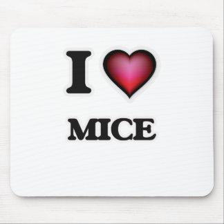 I Love Mice Mouse Pad