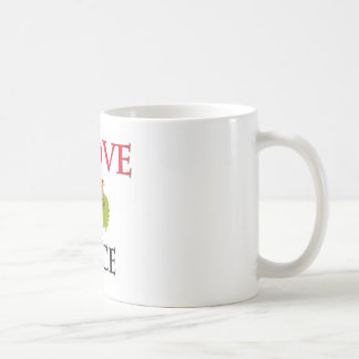 I Love Mice Classic White Coffee Mug