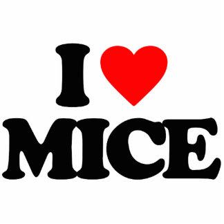 I LOVE MICE CUT OUTS