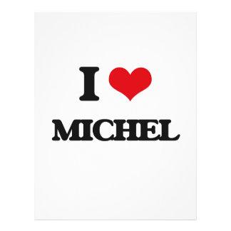 "I Love Michel 8.5"" X 11"" Flyer"