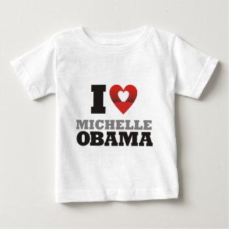 i love michelle obama baby T-Shirt