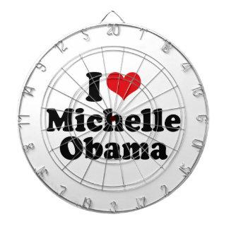 I LOVE MICHELLE OBAMA.png Dartboard