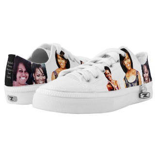 I LOVE MICHELLE OBAMA shoe Printed Shoes