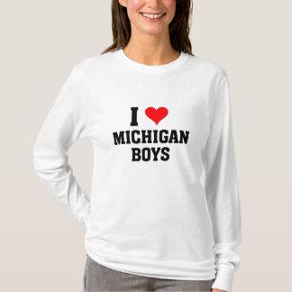I love Michigan Boys T-Shirt