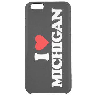 I LOVE MICHIGAN CLEAR iPhone 6 PLUS CASE