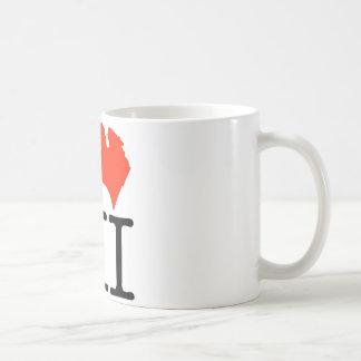 I Love Michigan! Coffee Mug
