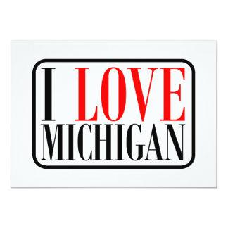 I love Michigan Design Card