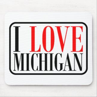 I love Michigan Design Mouse Pad