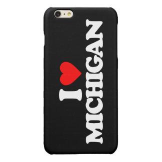 I LOVE MICHIGAN GLOSSY iPhone 6 PLUS CASE