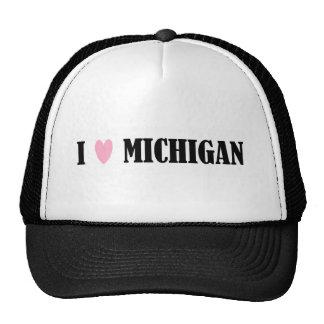 I LOVE MICHIGAN HAT
