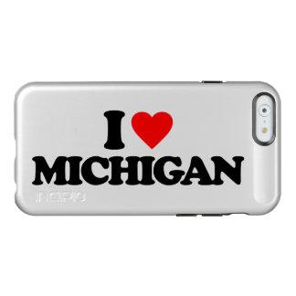I LOVE MICHIGAN INCIPIO FEATHER SHINE iPhone 6 CASE