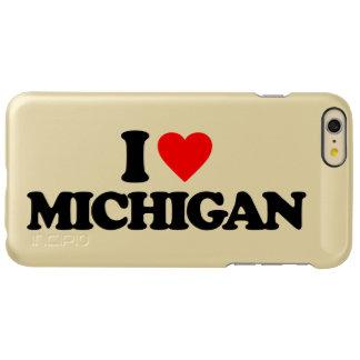 I LOVE MICHIGAN INCIPIO FEATHER SHINE iPhone 6 PLUS CASE