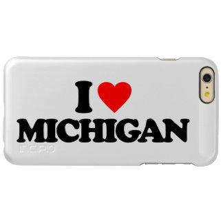 I LOVE MICHIGAN INCIPIO FEATHER® SHINE iPhone 6 PLUS CASE