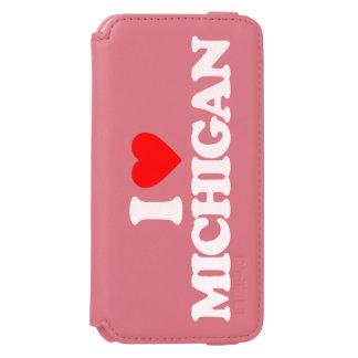 I LOVE MICHIGAN iPhone 6/6S WALLET CASE