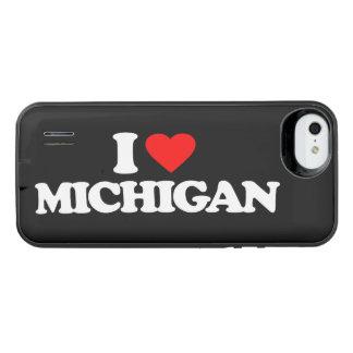 I LOVE MICHIGAN iPhone SE/5/5s BATTERY CASE