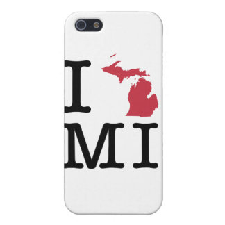 I Love Michigan iPhone SE/5/5s Case