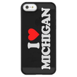 I LOVE MICHIGAN PERMAFROST iPhone SE/5/5s CASE