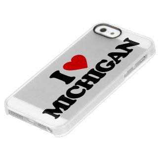 I LOVE MICHIGAN PERMAFROST® iPhone SE/5/5s CASE