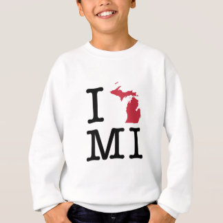 I Love Michigan Sweatshirt