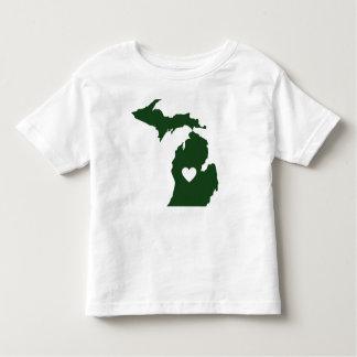 I Love Michigan Tee Shirt