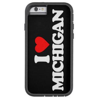 I LOVE MICHIGAN TOUGH XTREME iPhone 6 CASE