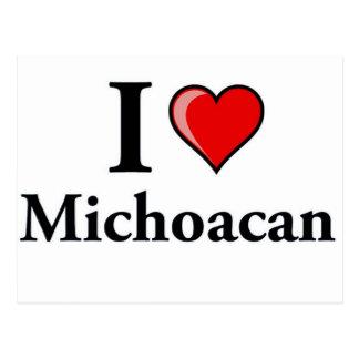 I Love Michoacan Postcard