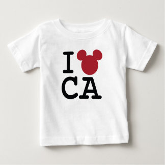 I Love Mickey   California Disneyland Baby T-Shirt