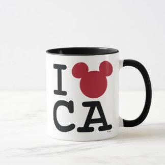 I Love Mickey   California Disneyland Mug