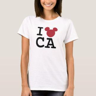 I Love Mickey   California Disneyland T-Shirt