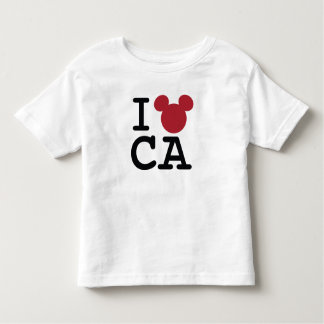 I Love Mickey   California Disneyland Toddler T-shirt